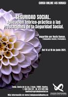 """""""SEGURIDAD SOCIAL. APLICACIÓN TEÓRICO PRÁCTICA A LAS PRESTACIONES DE LA SEGURIDAD SOCIAL"""""""