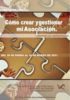 """CURSO """"CÓMO  CREAR Y GESTIONAR MI ASOCIACIÓN"""""""