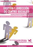 """CURSO """"EL PAPEL DEL TRABAJO SOCIAL EN LA GESTIÓN Y DIRECCIÓN DE CENTROS SOCIOSANITARIOS"""""""