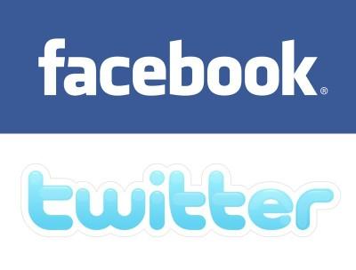 facebook & twiter