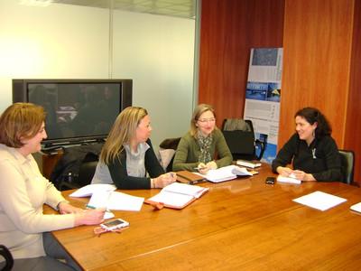 Encuentro oficina desahucio y Consejo Andaluz