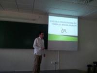 El Colegio Profesional de Trabajo Social en la Universidad de Huelva