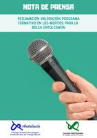 COLEGIOS PROFESIONALES DEANDALUCÍA RECLAMAN LA VALORACIÓN DE SU PROGRAMA FORMATIVO EN LOS MÉRITOS PARA LA BOLSA ÚNICA COMÚN DE EMPLEO CONVOCADA POR EL GOBIERNO AUTONÓMICO