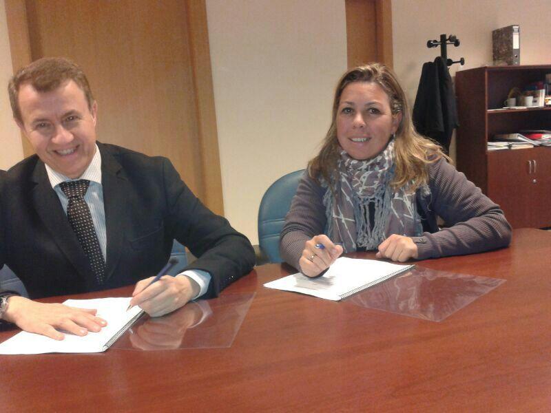 El Colegio firma un convenio de colaboración con Sanyres