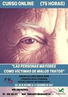 """CURSO """"LAS PERSONAS MAYORES COMO VICTIMAS DE MALOS TRATOS"""" - Finalizado."""
