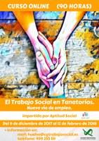 """CURSO ONLINE: """"EL TRABAJO SOCIAL EN TANATORIOS. NUEVA VÍA DE EMPLEO"""". Finalizado."""