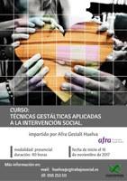 TÉCNICAS GESTÁLTICAS APLICADAS A LA INTERVENCIÓN SOCIAL. Finalizado.