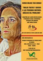 """CURSO ONLINE """"MALOS TRATOS Y ABUSOS A LAS PERSONAS MAYORES. ANÁLISIS DEL PROBLEMA"""". (150 HORAS). EN CURSO."""