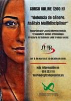 """CURSO ONLINE """"VIOLENCIA DE GÉNERO. ANÁLISIS MULTIDISCIPLINAR"""" (200 HORAS). EN CURSO."""