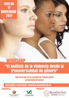"""El Colegio Profesional de Trabajo Social colabora en el Workshop """"El análisis de la violencia desde la transversalidad de género"""""""