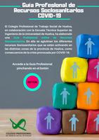 EL COLEGIO PROFESIONAL DE TRABAJO SOCIAL DE HUELVA Y LA UHU DISEÑAN UNA PRÁCTICA GUÍA PROFESIONAL ONLINE DE RECURSOS SOCIOSANITARIOS ANTE LA CRISIS DEL COVID-19.
