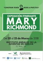 EL CPTS-HUELVA ORGANIZA UNA EXPOSICIÓN SOBRE MARY RICHMOND CON MOTIVO DEL DÍA MUNDIAL DEL TRABAJO SOCIAL, 20 DE MARZO