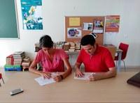 FIRMA DE CONVENIO ENTRE EL COLEGIO Y EL PORTAL FORMATIVO E-Learning CIFV.ES