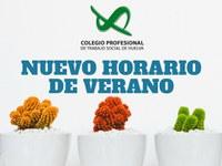 NUEVO HORARIO DE VERANO DEL CPTS-HUELVA