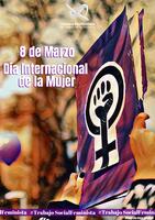 #TrabajoSocialFeminista rumbo hacia el 8M, Día Internacional de la Mujer.